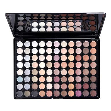 Natural eye shadow palet with 88 colors from Light In The Box  www.lightinthebox.com