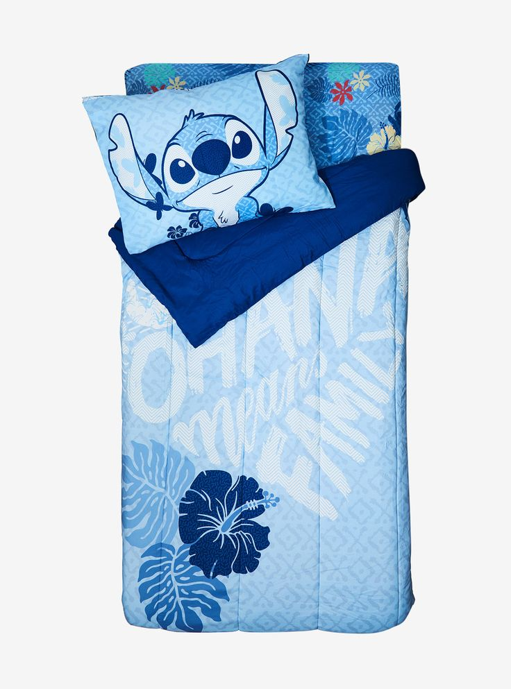 Disney Lilo & Stitch Tropical Twin XL Sheet Set,