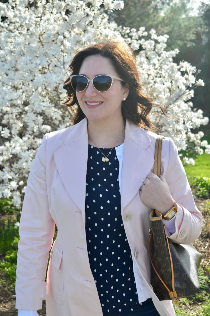 Joules shirt, Banana Republic trench