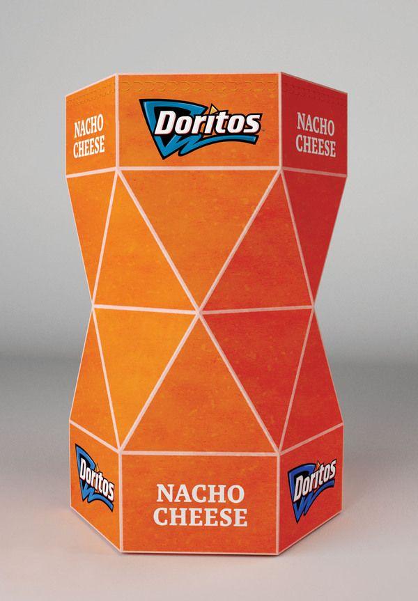 Doritos Packaging Concept by Petar Pavlov, via Behance
