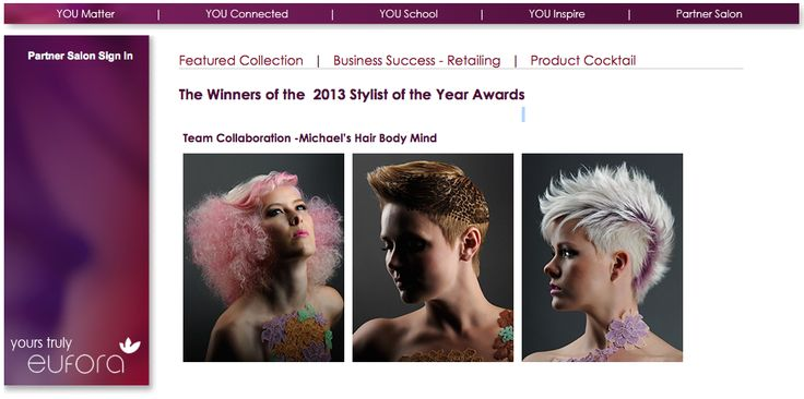 Did you know Michael's won Eufora International's 2013 Stylist Of The Year Award? Many salons from across the world compete in this competition and we're honoured to be recognized for this amazing accomplishment!   Try us free: https://apps.agorapulse.com/go/24241/24622  #hair #spa #salon #Hairstyle #Haircare #Beauty #Fashion #Haircut #HairstylesForWomen #LongHair #Haircuts #HairExtensions #Hairstyles #Skincare #HairColor #HairCareTips #NaturalHairCare #HairTips #HairSalon #mississauga