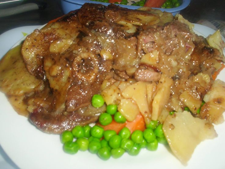 Lancashire Hot Pot Drop Dead Delish! From Scratch! GMO free! You will want to come home to this every night in winter!