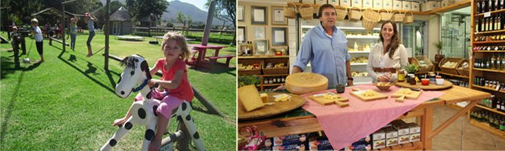Klein River Cheese Factory - Shop and Playpark - farm animals, wine and cheese, farming