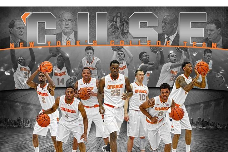syracuse basketball 2015' | 14-'15 Syracuse Basketball Poster: Rakeem Christmas is Coming For You ...