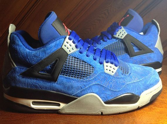 Air Jordan 4 Laser Sample