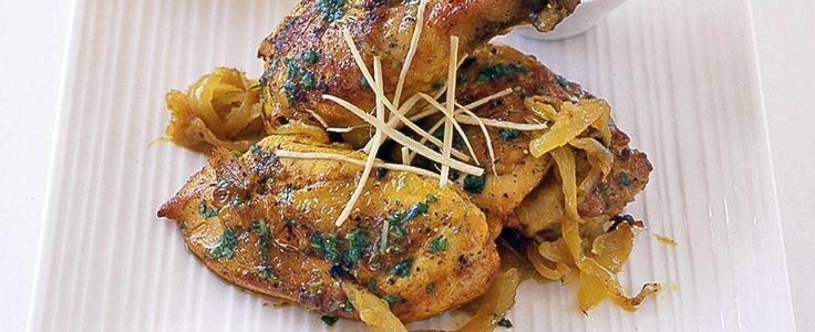 Atul Kochhar's black pepper chicken curry