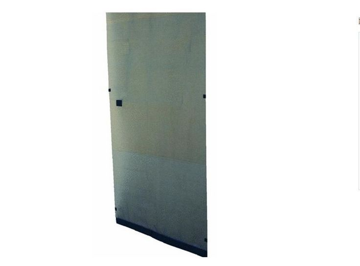 New Instant Screen Door Black Magnetic Portable Curtain Bug Debris Free Outdoors #SnaverlyInternational #TYPConnections