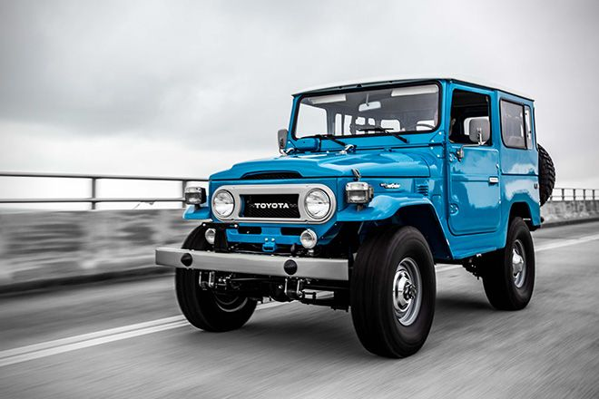 1978 Toyota Land Cruiser FJ40 Sky Blue by FJ Company 3