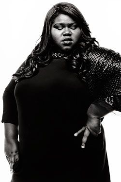 """They try to paint the picture that I was this downtrodden, ugly girl who was unpopular in school and in life, and then I got this role [in Precious] and now I'm awesome,"" says Gabourey Sidibe. ""But the truth is that I've been awesome, and then I got this role."""