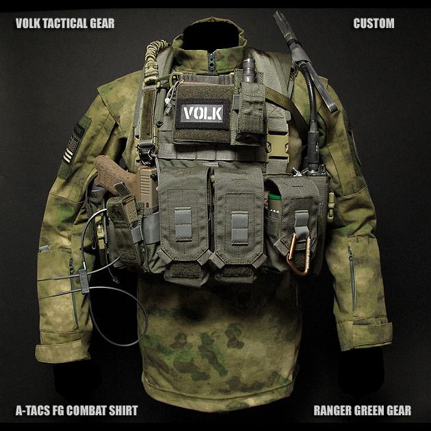 Straighten up, Fly right - some cool shit from Volk Tactical gear. Anyone out...