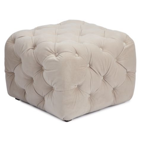 chrome hearts jewelry online shop Jules Tufted Ottoman from Z Gallerie