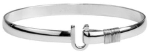 The Hook Company 6mm Titanium Original Hook Bracelet 7 In. Stronger than steel but 42% lighter. High corrosion resistance, particularly against oxygen. Extremely bio-compatible - No one on the planet is allergic to it!.