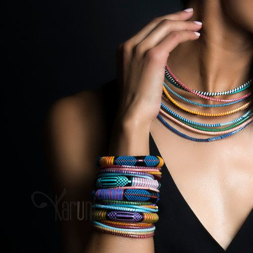 Bijoux Ethniques Touareg Bracelets africains larges homme/femme/enfant (lot de 3) 09