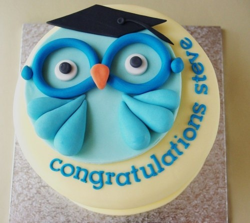 (surprise) Cake I'll be making for Adam's graduation!