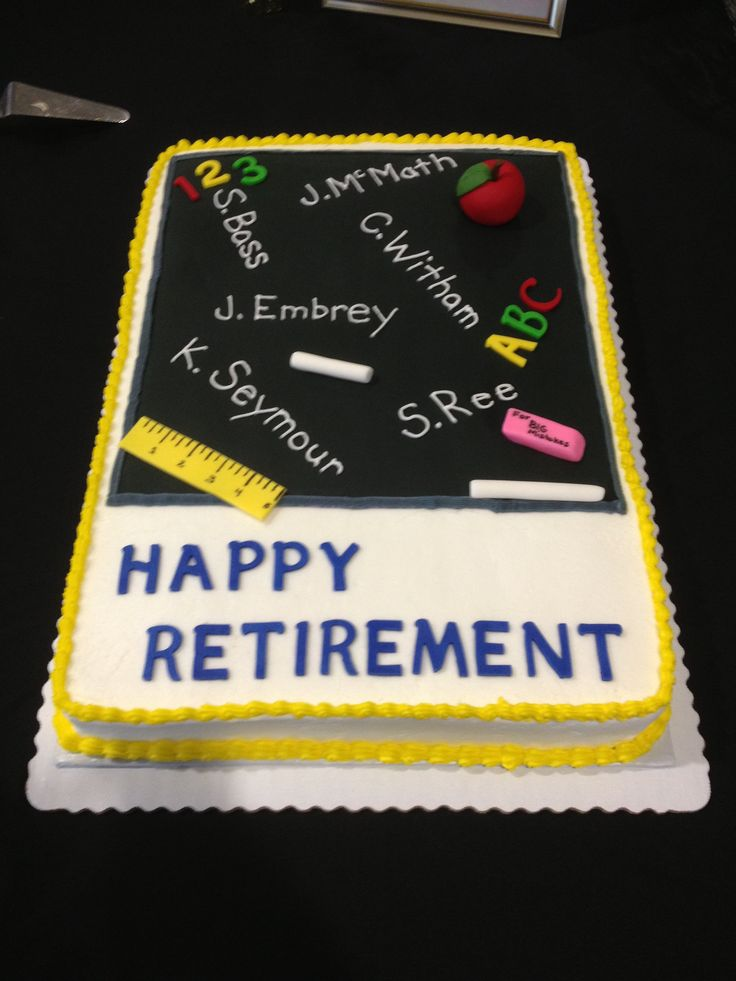 Retirement, Happy retirement and Retirement cakes on Pinterest