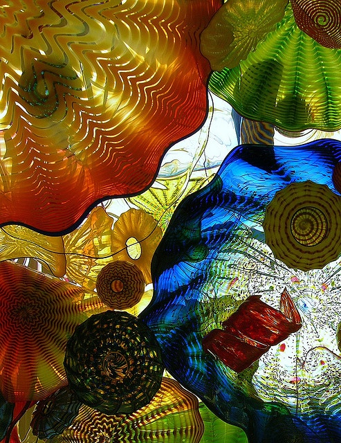Tacoma Glass Museum, Chihuly Bridge, Washinton state