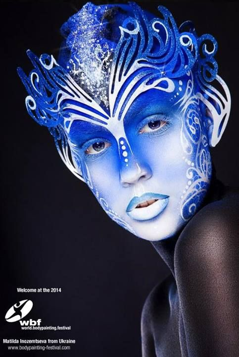 5 World Bodypainting Festival  Be Inspirational❥ Mz. Manerz: Being well dressed is a beautiful form of confidence, happiness & politeness