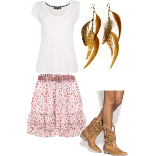 Country Girl: Feathers Earrings, Bit Country, Countrygirl, Girls Generation, Country Girls Clothing, Hairs Styles, Line Dance, Cutest Outfit, Cute Skirts