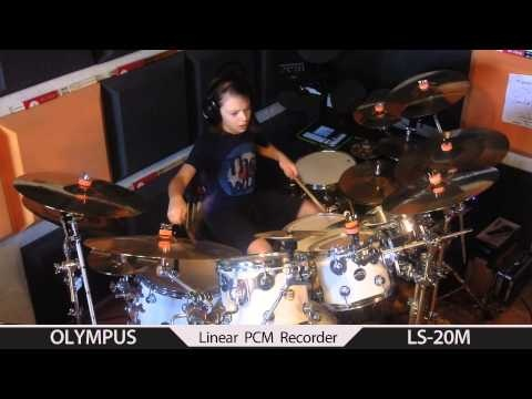 NEW ! Porcupine Tree BLACKEST EYES - drum cover by Igor Falecki (11 y old)