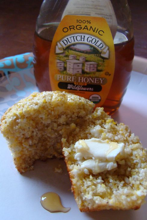 honey muffins. midsummer picnic food