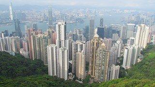 Hong Kong, Asie, Mount Victory, Panorama