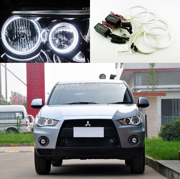 32.68$  Buy here - https://alitems.com/g/1e8d114494b01f4c715516525dc3e8/?i=5&ulp=https%3A%2F%2Fwww.aliexpress.com%2Fitem%2FFor-Mitsubishi-Outlander-2011-2012-non-projector-Excellent-Ultra-bright-headlight-illumination-CCFL-Angel-Eyes-kit%2F32286812097.html - For Mitsubishi Outlander 2010 2011 Halogen headlight Excellent Ultra bright illumination CCFL Angel Eyes kit Halo Ring 32.68$