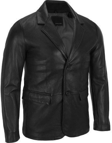 Wilsons Leather Mens Big & Tall 2-Button Lamb Blazer