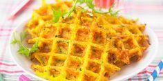 Gaufre aux légumes, rapide et pas cher : recette sur Cuisine Actuelle