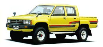 Toyota Hilux Double Cab SR JP-spec '1983–88