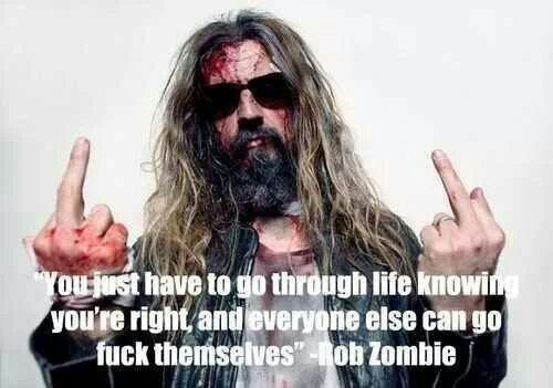 Rob Zombie Quotes by @quotesgram