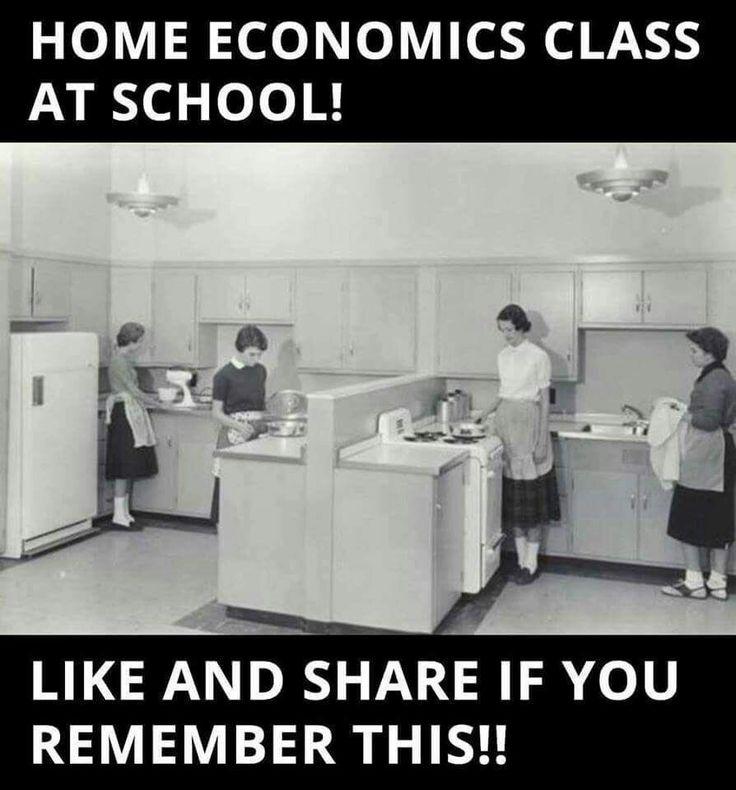 Huishoudkundeklas