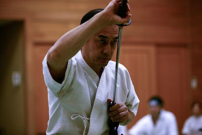 Tetsuzan Kuroda shisho.
