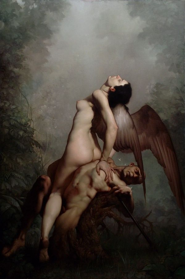 Roberto Ferri's Baroque-Inspired Paintings Delve into the Human Soul | Hi-Fructose Magazine