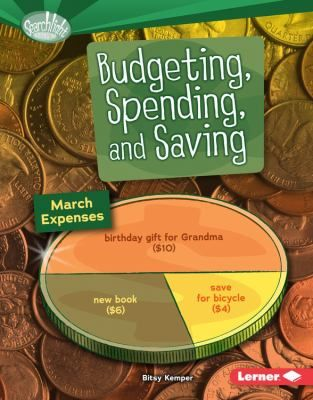 Cover image for Budgeting, spending and saving