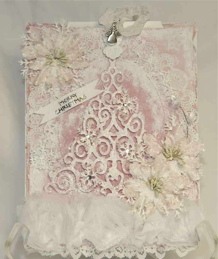 17 best ideas about shabby chic xmas on pinterest shabby for Shabby chic christmas