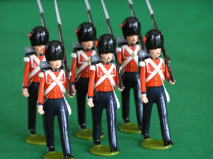 ...together with a box, as big as I could afford, containing a collection of me in the uniform of the Grenadier Guards.