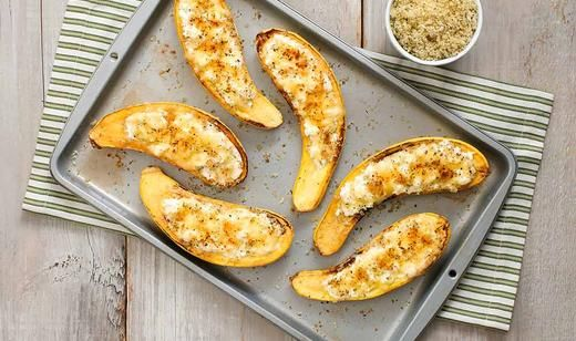Stuffed Florida Yellow Squash Parmesan / Sides / Recipes / Home - Florida Department of Agriculture & Consumer Services