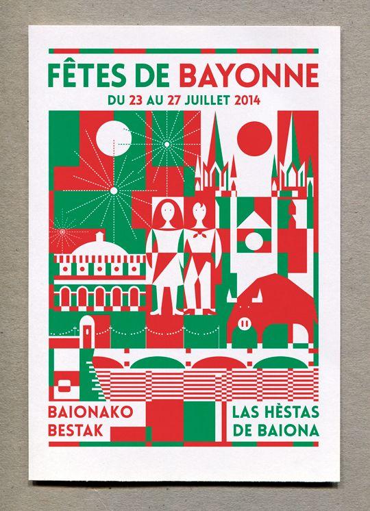 Fête de Bayonne 2014 © Adrien Honnons