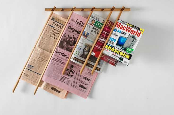 Great looking newspaper sticks! I'm going to need some of these for my library.