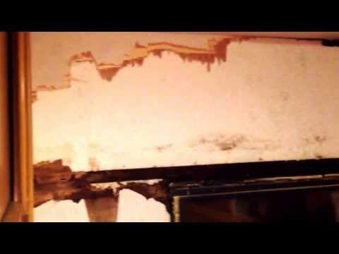 how to fix a elddis caravan from damp - YouTube