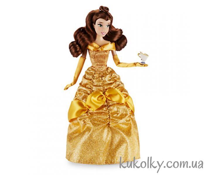 Принцесса Белль с чашечкой Чипом 2016 классическая кукла