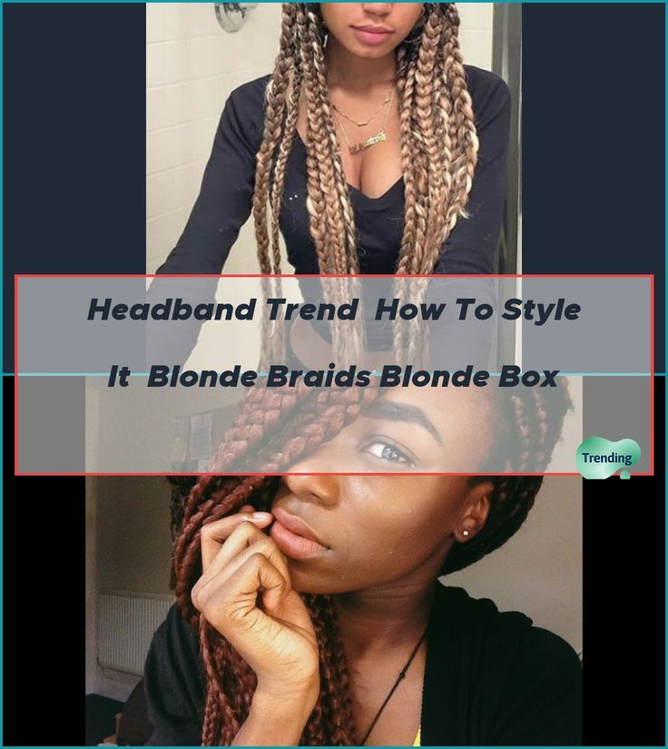 How i maintain my box braids in 2020