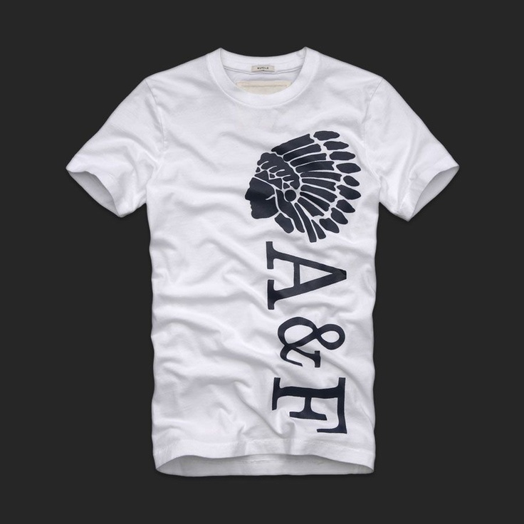 Abercrombie and Fitch Mens Graphic Tees 143
