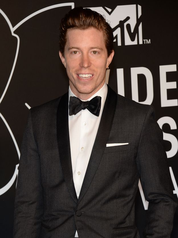 He looks flawless in a tux. | 23 Reasons Shaun White Is The Perfect Valentine For You