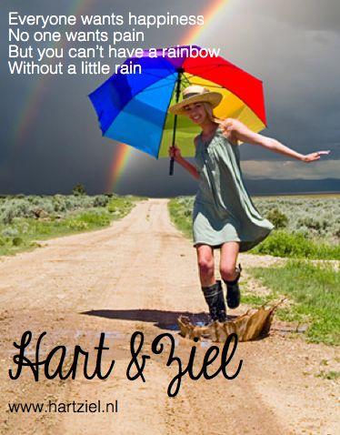 #citaat #quote #happiness #rainbow #geluk #regenboog #pain #pijn