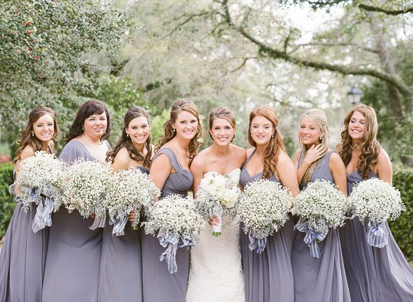 Cheap bridesmaid dresses same color different styles