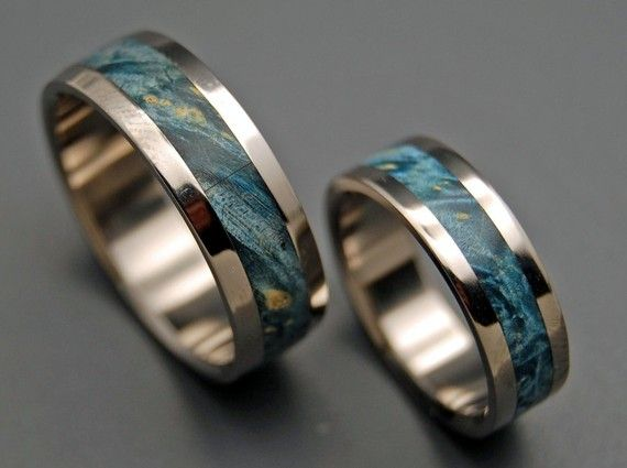 wedding rings, titanium rings, wood rings, mens rings, womens ring, Titanium Wedding Bands, Eco-Friendly Rings – STARRY STARRY NIGHT