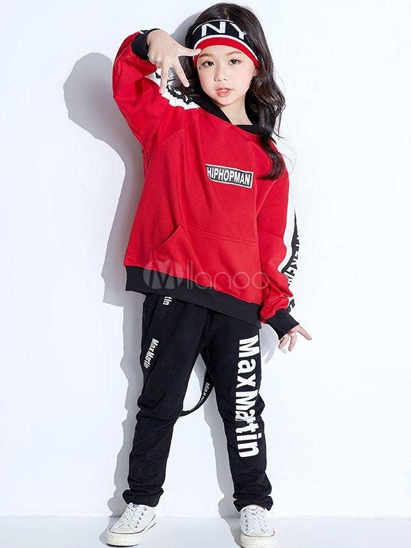 Kids Shiny Sequins Dance Pants Crop Tops Girl Hip-hop Jazz Street Dance Trousers