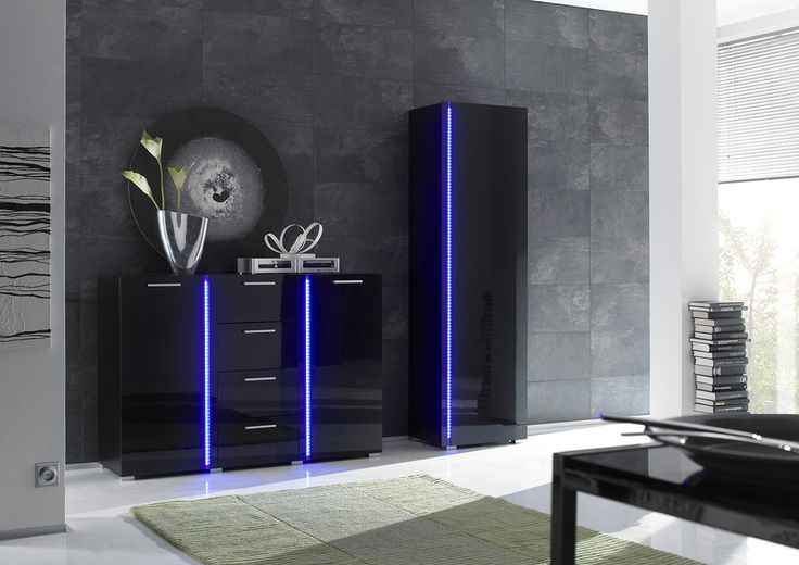 Classy Black Pianovo Gloss by #Niemann is a statement in any room.