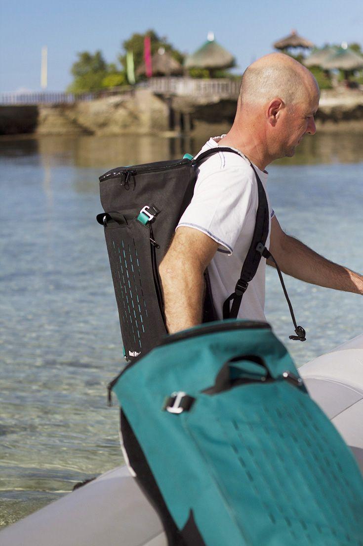 Demon Dry Waterproof Backpack 30L #bloodredclothing #bloodreddrybag